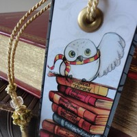 Harry Potter Bookmark Free US Shipping by Bogies on Etsy