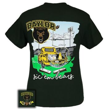 Texas Baylor Bears Tailgates And Touchdowns T-Shirt