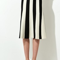 FRS Stripe Midi Skirt