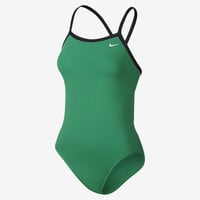 The Nike Poly Core Solid Women's Swimsuit.