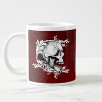Skull Cameo 1 Giant Coffee Mug