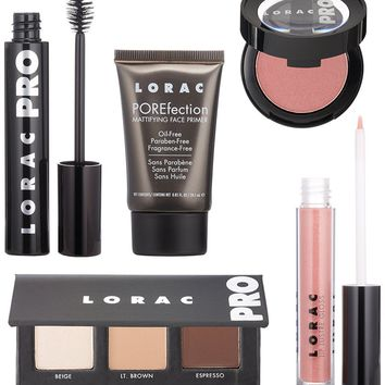 LORAC 6-PC Close Up Real Life to Red Carpet PRO Face Tutorial Kit