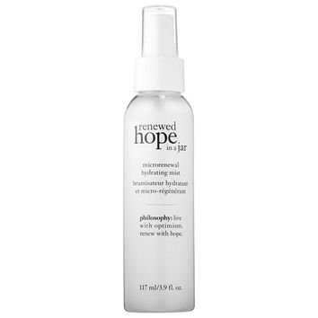 philosophy Renewed Hope In A Jar Microrenewal Hydrating Mist - JCPenney