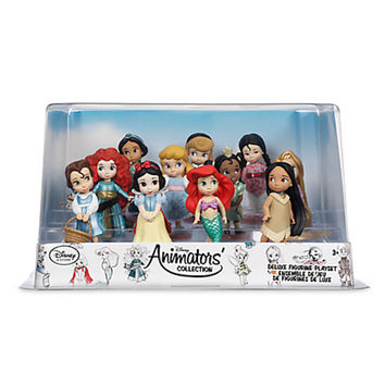 Disney Store Animators' Princess Collection Deluxe Figure Play Set New with Box