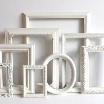 Shop Gallery Frame Set White on Wanelo