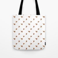 Pizza Tote Bag by Kathleen Sartoris