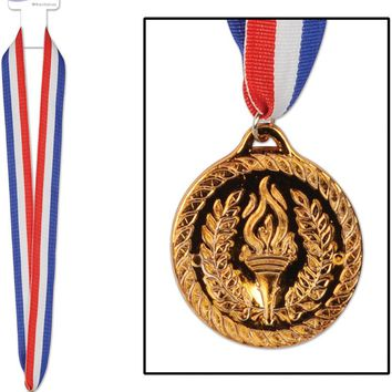 Bronze Medal with Ribbon #80975 Case Pack 36