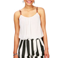 Rebelle Romper | Trendy Clothes at Pink Ice