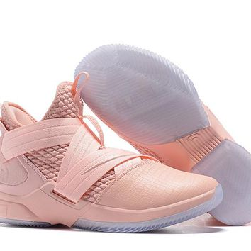 LeBron Soldier 12 XII EP Sneaker - Pink
