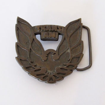 Vintage 1970 - 80s Rocker / Trans Am Belt Buckle