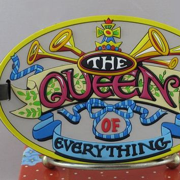 Mary Engelbreit Queen of Everything Luggage Tag-613