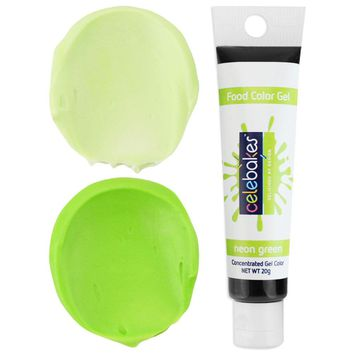 Neon Green Gel Food Coloring - Celebakes
