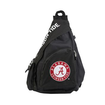 "Alabama Crimson Tide Backpack Sling Official NCAA ""LeadOff"""