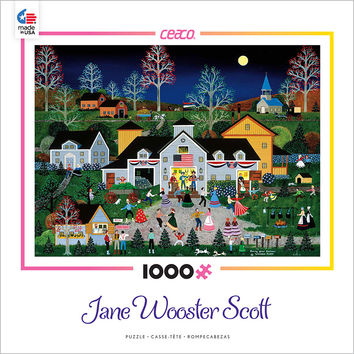 Ceaco Jane Wooster Scott Swing Your Partner 1000 Piece Puzzle