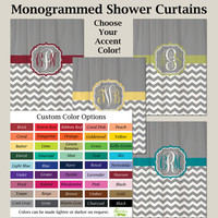 YOU PICK Accent COLORS on Cool Gray Half by SwirledPeasDesigns