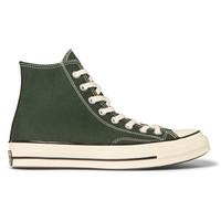 Converse - 1970s Chuck Taylor All Star Canvas High-Top Sneakers