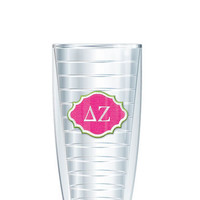 Delta Zeta Tumbler -- Customize with your monogram or name!
