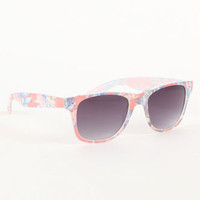 With Love From CA Floral Print Sunglasses at PacSun.com