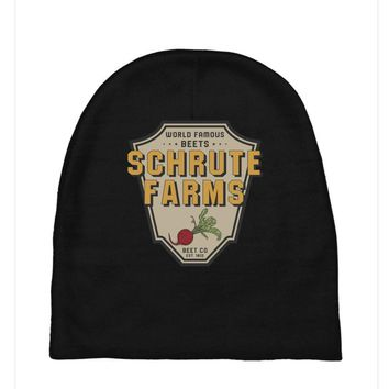 World Famous Beets Schrute Farms Baby Beanies