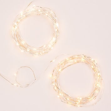 Silver String Lights (Set of 2)