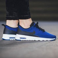 DCCKBE6 Nike Air Max Thea Jacquard 'Deep Royal Blue / Deep Royal Blue' (Tmall ORIGINAL)