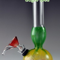 8 inches Rasta Water Pipes