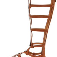 Solo 14 Tan Tall Gladiator Sandals