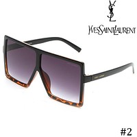 YSL Yves Saint Laurent personality big square square sunglasses F-ZXJ #2
