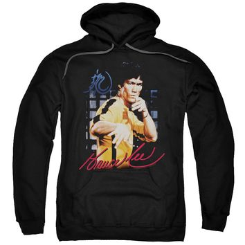 Bruce Lee - Yellow Jumpsuit Adult Pull Over Hoodie