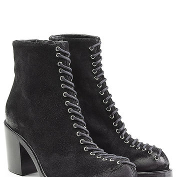 McQ Alexander McQueen - Suede Ankle Boots