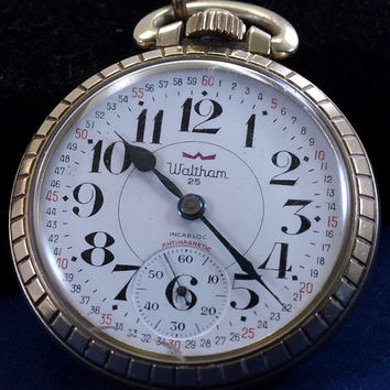Waltham Watch Co. 25 Jewels, Pocket Watch. Immaculate