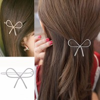 Women's Fashion Hair Accessories Geometric Openwork Butterfly Hairpin Hair Clips Headdress Hair Accessories