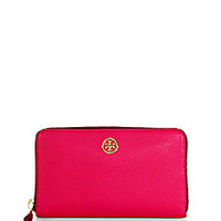 Tory Burch - Robinson Large Zip Continental Wallet - Saks Fifth Avenue Mobile