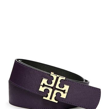 Tory Burch York Saffiano Belt
