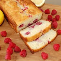 Cake Raspberry White Chocolate Loaf  with icing, over 1 LB Made fresh to order, Birthday party, Holiday Gifts