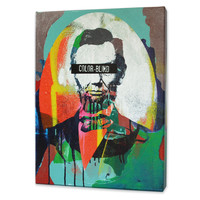 Color-Blind Lincoln Print