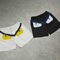 Fendi New fashion women and men shorts two color