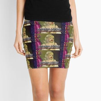 'Dresses to get Attention' Mini Skirt by cameronprata