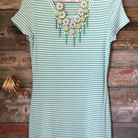 Hitting the Town Dress: Mint