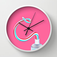The C Wall Clock by Dani Aristizábal