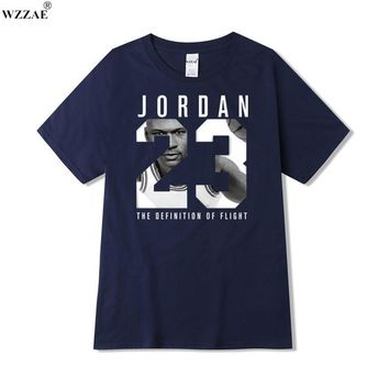 WZZAE 2017 New Brand Clothing Jordan 23 Men T-shirt Swag T-Shirt Cotton Print Men T sh