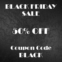 Black Friday Sale 50% OFF, Coupon Code BLACK. Till Dec. 1. It Is For Informational Purposes Only. Please Do NOT Purchase This Listing.