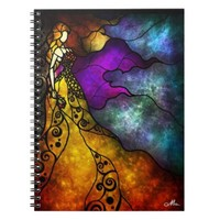 Beauty and the Beast Notebook by Mandie Manzano