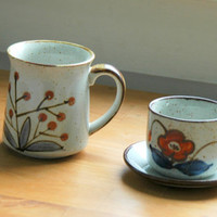 vintage Coffee and Tea cup collection by DancingMooney on Etsy