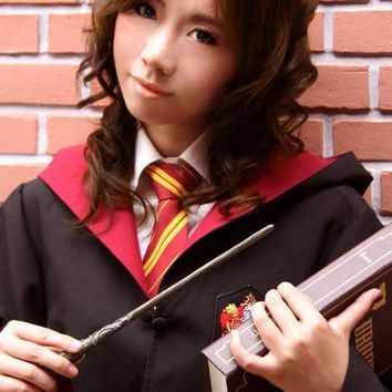 Harry potter cosplay robe, scarf and tie set.