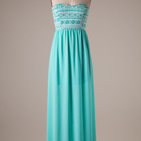 A Life is Sweet Maxi Dress- Mint
