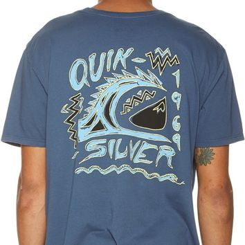 QUIKSILVER SCATTERED SS TEE