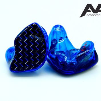 Advanced AcousticWerkes A3H-V Triple Driver Hybrid Custom In-Ear Monitor