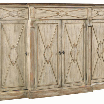 "Navi 77"" Diamond Credenza, Dune, Buffets & Sideboards"