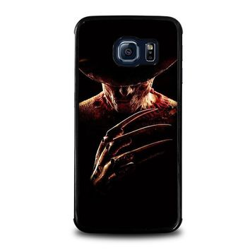 freddy krueger 2 samsung galaxy s6 edge case cover  number 1